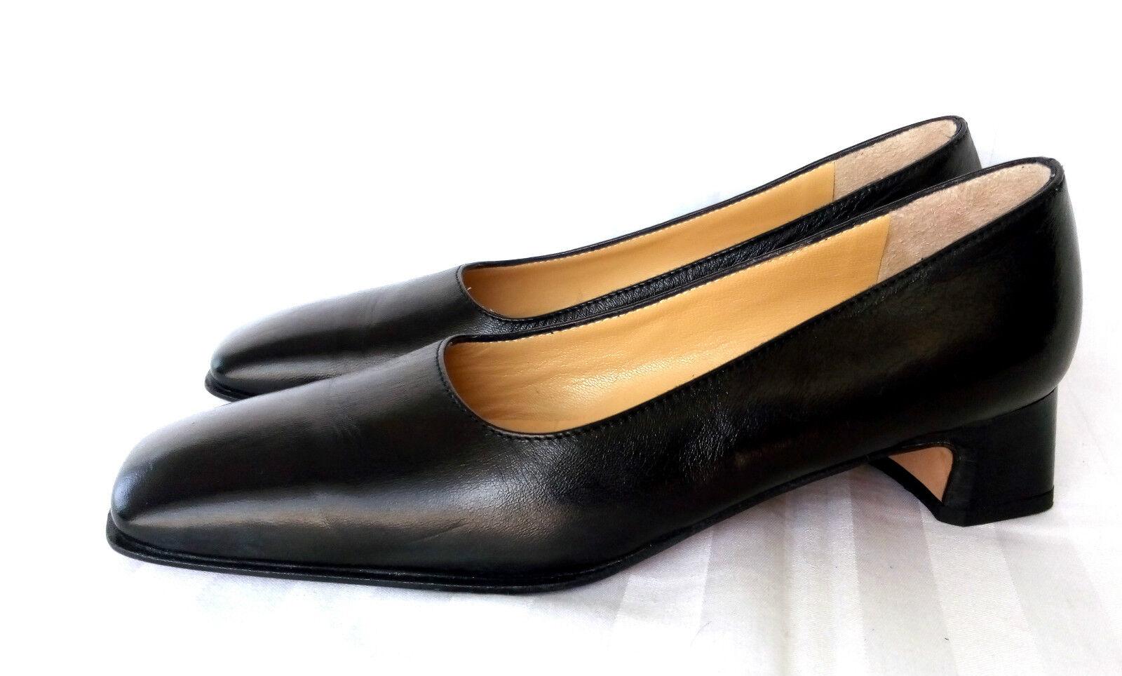 in vendita Solo Moda Tacco Alto Pumps picconi Scarpe Scarpe Scarpe Scarpe Da Donna Pelle Nero Mis. 38 come nuovo  negozio online