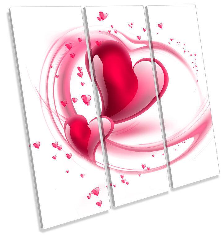 Joie de Noël, étape par étape Amour roFemmetique murale coeur treble toile murale roFemmetique art carré photo print c93922