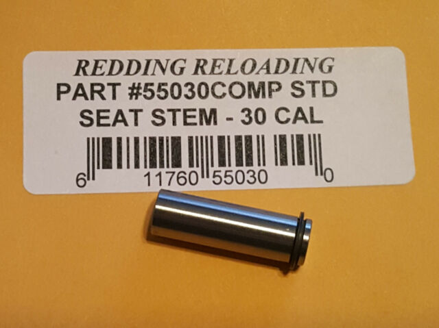 20 CAL LONG NEW 55749 REDDING VLD COMPETITION SEATING DIE STEM FREE SHIP