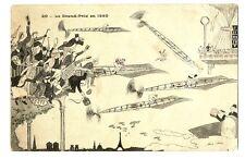 CPA Fantaisie Illustrateur Xavier Sager Le Grand Prix en 1950 illustration