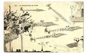 CPA-Fantaisie-Illustrateur-Xavier-Sager-Le-Grand-Prix-en-1950-illustration