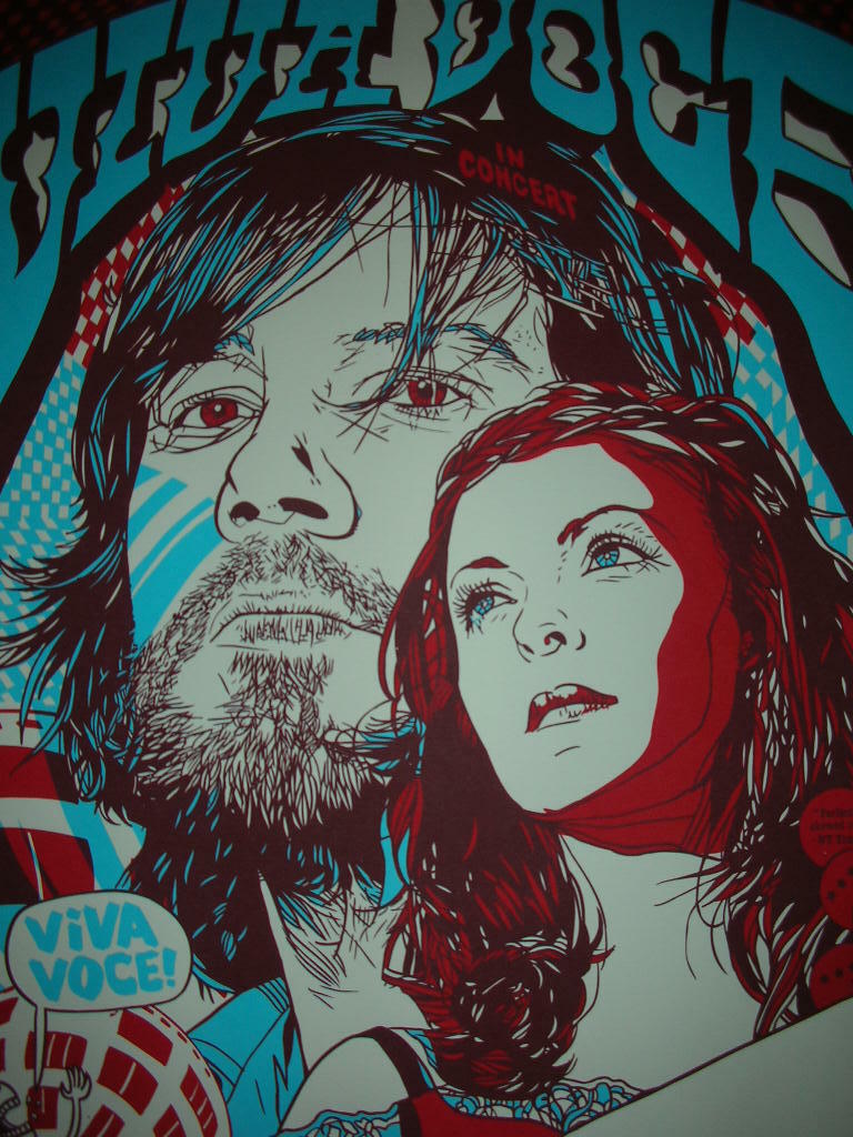 Image result for viva voce gig poster