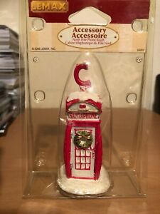 Lemax Christmas Village Collection North Pole Phone Booth 64452 Retired