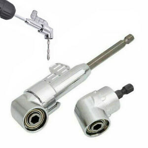 1-4-034-105-Angle-Extension-Hex-Drill-Bits-Screwdriver-Socket-Holder-Adaptor-Tool