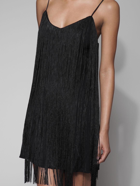 JAY JAY JAY GODFREY Tony Cami Fringe Dress 624f1b
