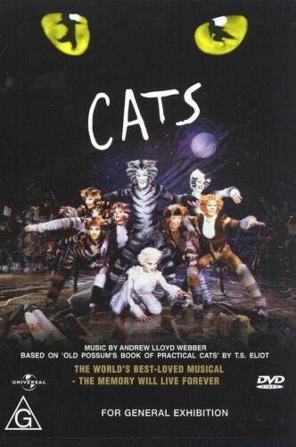 1 of 1 - Cats (Musical) Region: 2-6