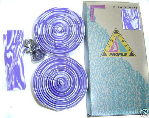Profile Design lenkerband bar wrap violet blanc nouveau