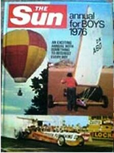 THE SUN ANNUAL FOR BOYS 1976 - <span itemprop='availableAtOrFrom'>Wolverhampton, United Kingdom</span> - THE SUN ANNUAL FOR BOYS 1976 - <span itemprop='availableAtOrFrom'>Wolverhampton, United Kingdom</span>