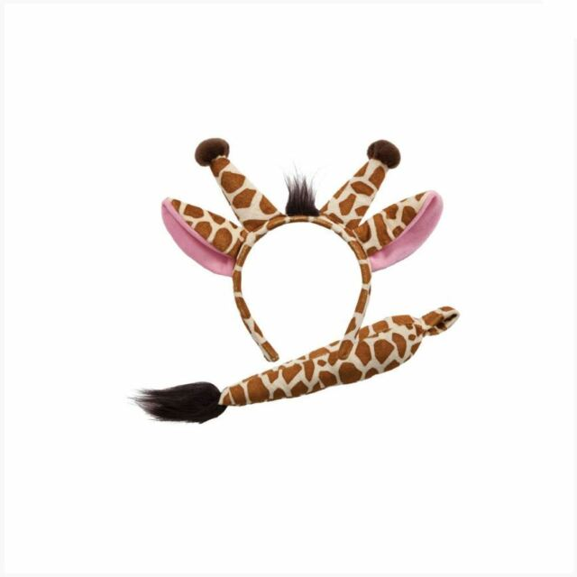 GIANT EARS Child Suitable TAILS Deluxe Animal Fancy Dress Accessory Adult