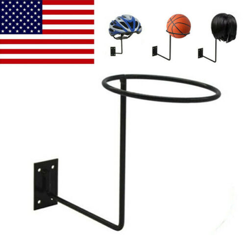 Wall Mount Display Rack Motorcycle Helmet Rack Ball Wig Wall Hanger Display Hook