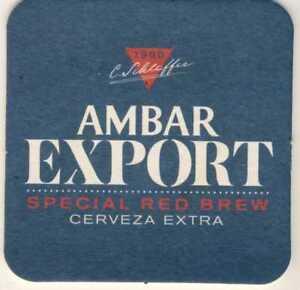 sous bock coaster CERVEZA ESPECIAL AMBAR EXPORT Spécial Red Brew WgmezhWm-09093119-307300648
