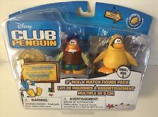 Disney Club Penguin Series 3 Figure Pack 12th Fish Costume & Bard NEW & RARE!