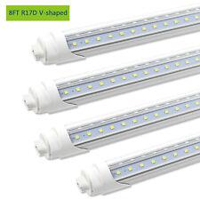 10Pack R17D 5ft 24w 2800Lumens 5500k Clear Lens T8 LED Tube Light Cooler//Freezer