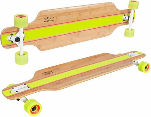 HUDORA Longboard Point Loma schwarz ABEC 7 Skateboard Funsport Sport Skate 12819
