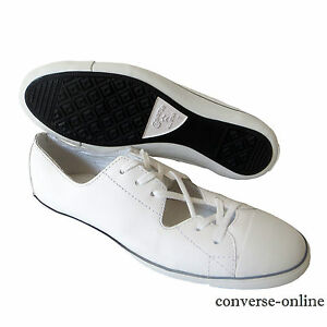 converse all star ox blancas mujer
