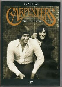 Carpenters-DVD-The-Live-History-Brand-New-Sealed
