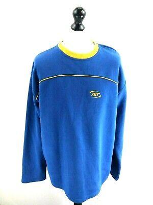 Sammlung Hier Jet Mens Jumper Sweater Xl Blue Cotton & Polyester SorgfäLtige Berechnung Und Strikte Budgetierung