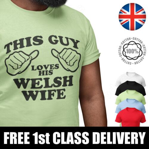 Cadeau D/'anniversaire graphique Slogan Tee pour homme Drôle T-Shirt Tee Welsh Femme T-shirt