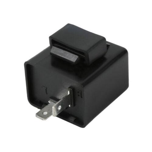 Flasher Relay For LED Indicator Motorcycle Motorbike Bike Resistor 2 Pin 1 Uwwj