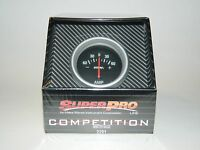 Make Waves Superpro Competition 2 5/8 Amp Ammeter Gauge -60 To +60 Black