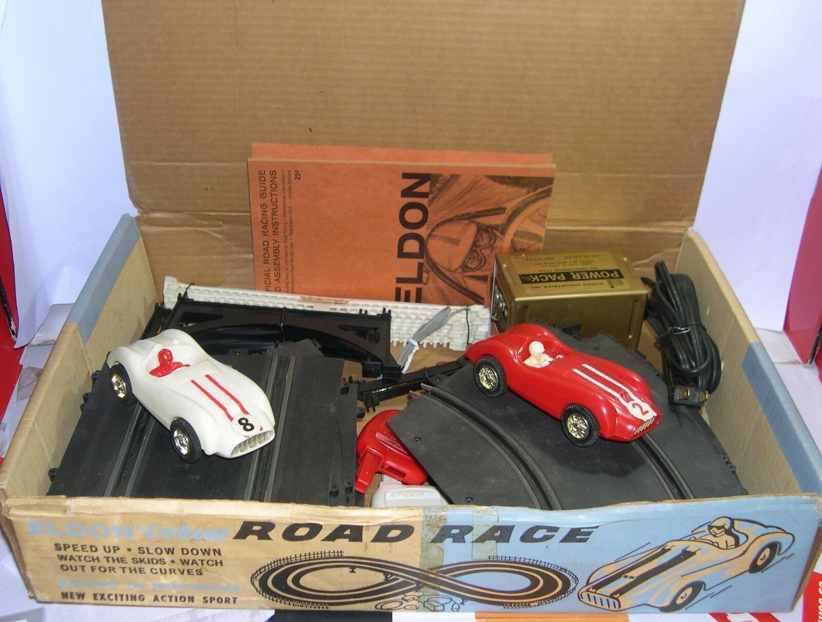 ELDON 9805 9805 9805 SCHALTUNG DE LUXE ROAD RACE 2 FERRARI-TYP SPORT CARS EXC.CONDITION  | Moderne und elegante Mode  435ea0