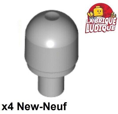 Affidabile Lego - 4x Luce Lampeggiante Light Copri Grigio / Light Bluish Gray 58176 Nuovo