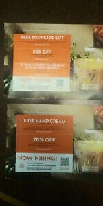 LOT OF 4 Bath & Body Works coupons ~~ Expire 10-31-2021 ~~