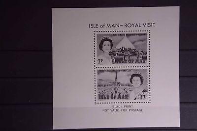 Briefmarken Großbritannien Kolonien X1 Europa Gb-isle Of Man 150/151 Schwarzdruck StäRkung Von Sehnen Und Knochen