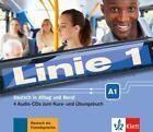 Linie 1 A1 - 4 Audio-CDs zum Kurs- und Übungsbuch (2015)