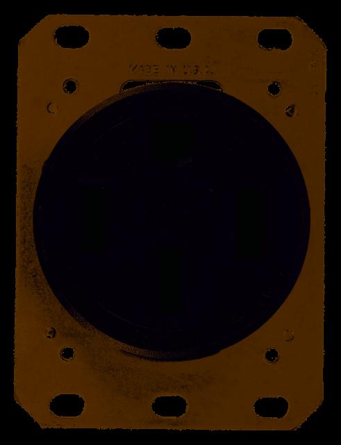 Receptacle Single 50A Black 14-50R 250V