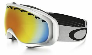 c0da4803ef57 Oakley Canopy 7047-42 Snow Ski Goggles 80s Green Alt Fit Prizm Jade Iridium  Lens