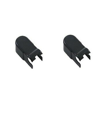 For Porsche Cayenne Set of 2 Wiper Blade Connection Cover Genuine 955 628 306 01