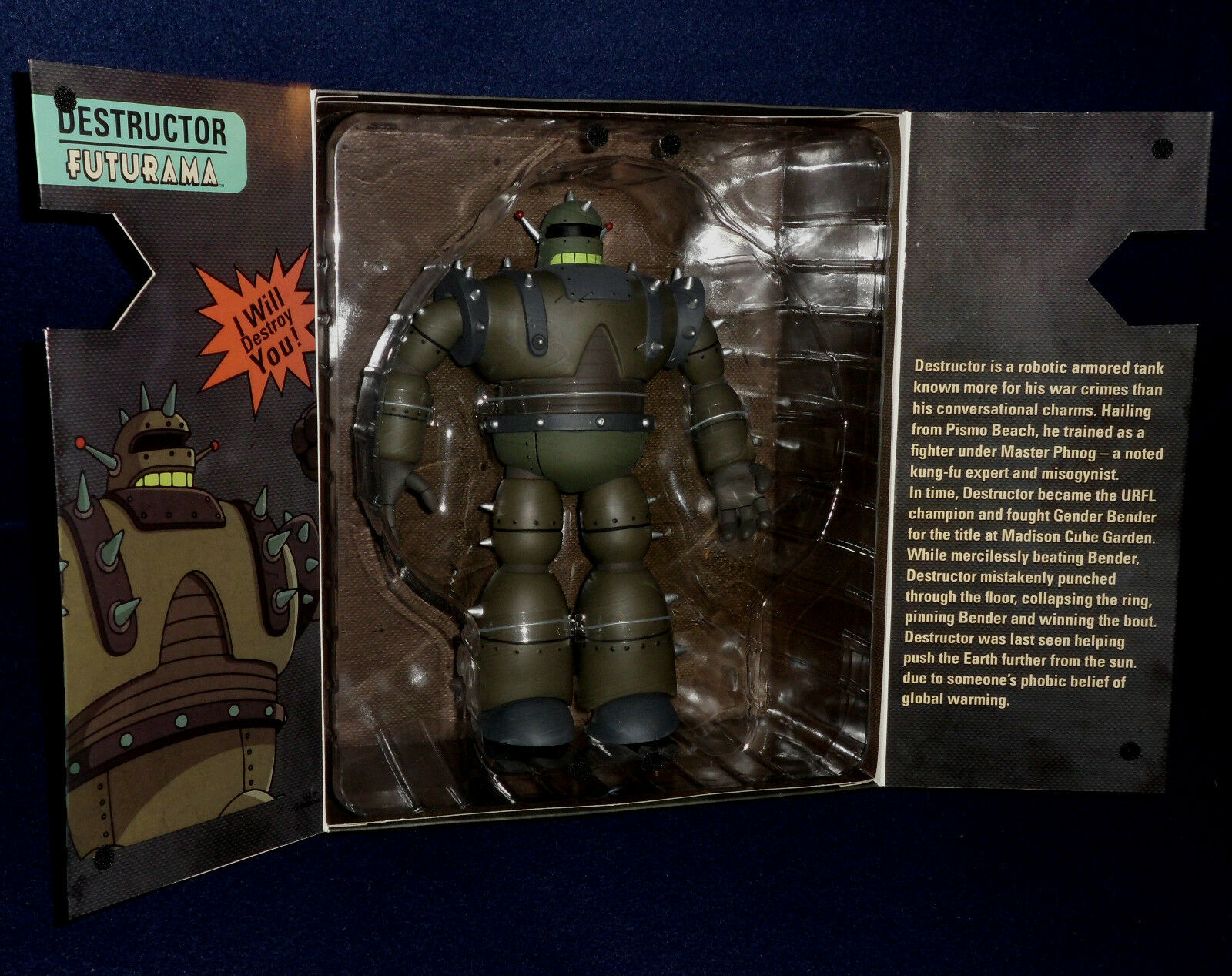 SDCC 2011 Exclusive Futurama DESTRUCTOR 12  Action Figure Toynami