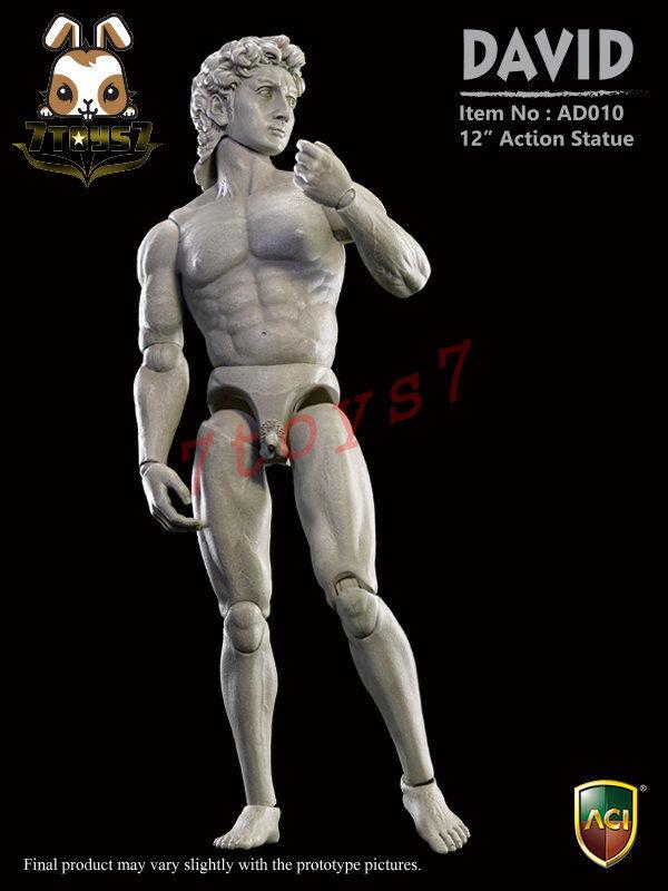 Aci spielzeug 1   6 ad010 action - statue - david_ box _michelangelo kunst jetzt at096z