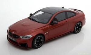 1-18-GT-Spirit-BMW-m4-M-Performance-orange-metallise-carbone