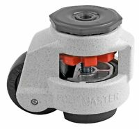 Footmaster Gd-80s-1/2 Nylon Wheel And Nbr Pad Leveling Caster, 1100 Lbs, Stem Mo on sale