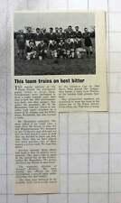 1962 Old Grottonians Trains And Best Bitter Mr Bassadone