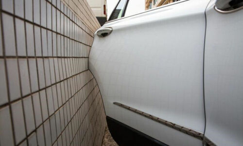 Car Black Rubber Anti-Rub Strip Door Edge Crash Guard Scratch Bar Protection Pad