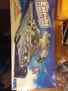 MPC ERTL Star Wars The Empire Strikes Back Star Destroyer