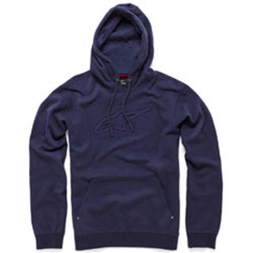 Alpinestars Behörde Fleece Kapuzenpullover (M) Marineblau