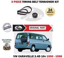 Per VW CARAVELLE AAB 2.4 D 10V T4 78bhp 1990-1998 Timing Cam Belt KIT tensionatore