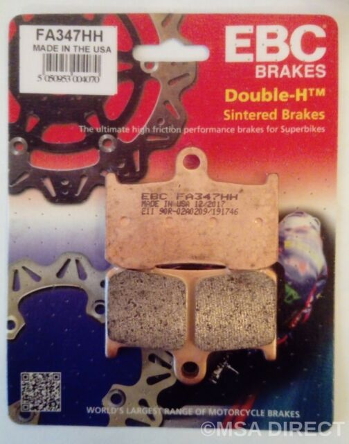 Victory King Pin (2008 to 2012) EBC FRONT Sintered Brake Pads (FA347HH) (1 Set)