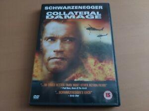 Collateral Damage DVD (2002) Arnold Schwarzenegger, Francesca Neri, John Leguiza