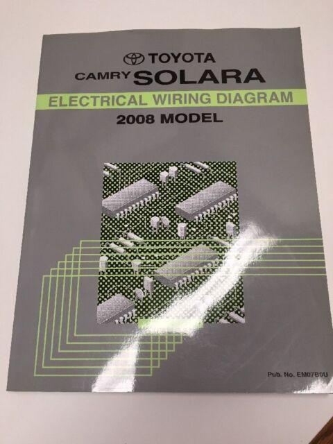 2008 toyota rav4 oem factory electrical wiring diagram book ebay