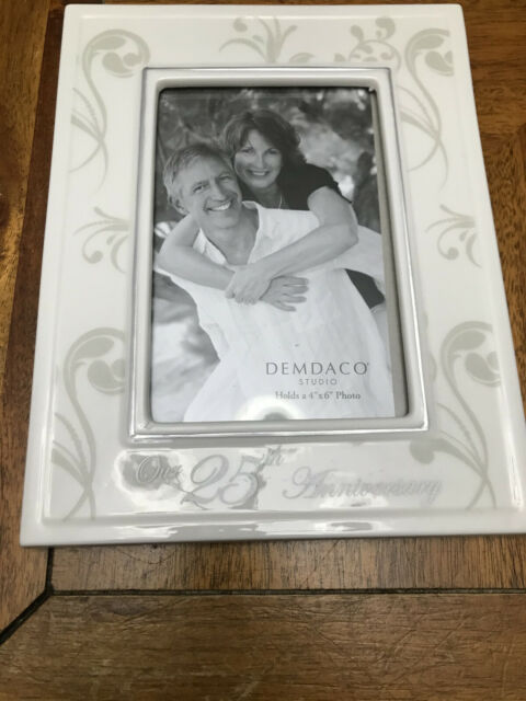 Demdaco Our 25th Anniversary Frame From This Day Forward For Sale Online Ebay