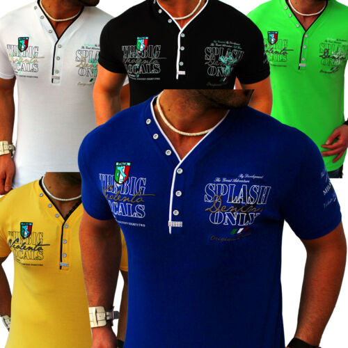 2581 Men/'s T-Shirt Shirts Top Quality Polo Party Clubwear M-XXXL 3XL T.2.3