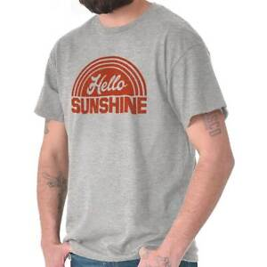 Hello-Sunshine-Lifestyle-Graphic-Novelty-Gift-T-Shirts-T-Shirts-Tees-For-Womens
