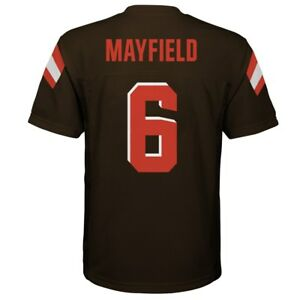 c33861ddb58 Image is loading 2018-2019-Cleveland-Browns-BAKER-MAYFIELD-nfl-Jersey-