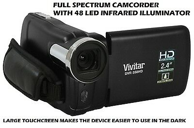 Full Spectrum Camcorder INFRARED NIGHTVISION GHOST HUNTING EQUIPMENT PARANORMAL