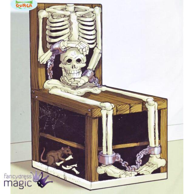 medieval horror halloween skull skeleton chair cover decoration